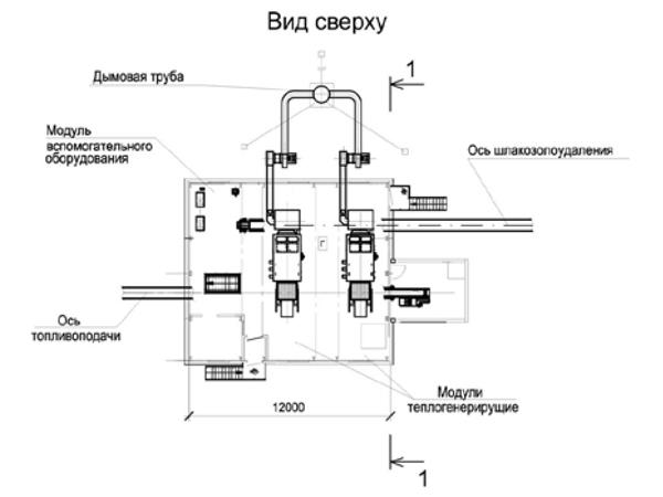 Блочно-модульная котельная
